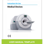 US User Manual Template Medical Devices