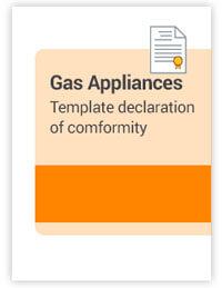 Konformitätserklärung Gasverbrauchseinrichtungen